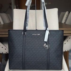 🌺NWT Michael Kors LG Sady Tote bag Black handbag